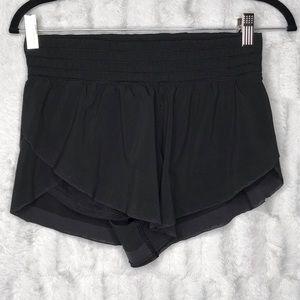 Lululemon Black Running Athletic Shorts